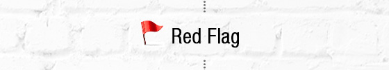 The Ultimate Guide - Red flag