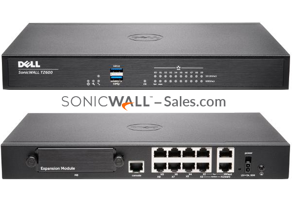 Firewall Security Device - SonicWall TZ600